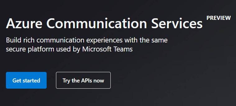 azure communication services